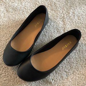 Black Ballet Flat